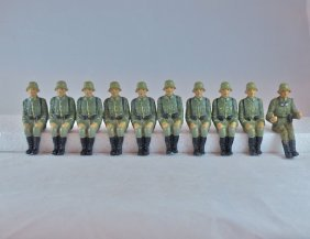 Lineol Reproduction Half-track Soldiers+driver
