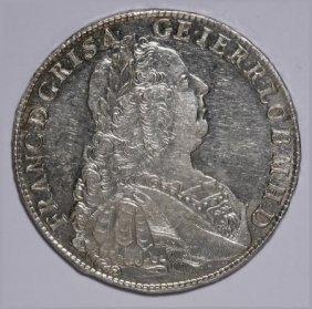 Austria Francis I Taler 1753 KB, Dav-1157,