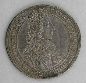 Austria Olmutz, Karl III Josef Taler 1704,
