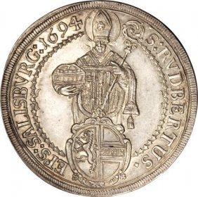 Austria Salzburg, Johan Ernst Taler 1694/3,