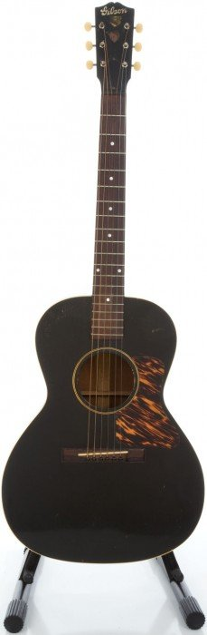 1939 Gibson L-0 Black Acoustic Guitar, Serial #