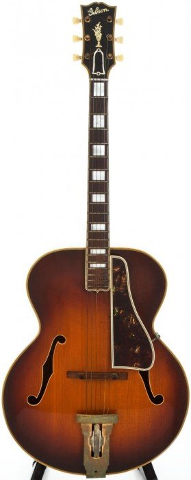 1952 Gibson L5 Sunburst Archtop Acoustic Guitar,