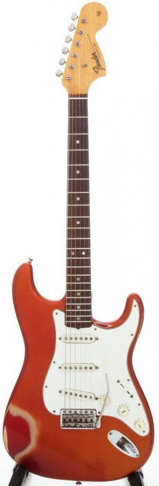 1966 Fender Stratocaster Candy Apple Red Solid B