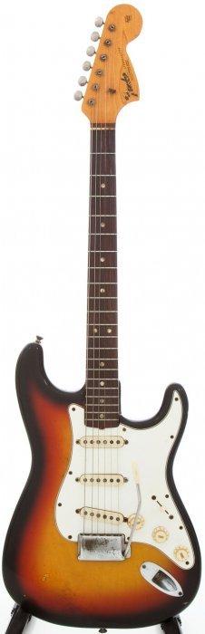 1967 Fender Stratocaster Sunburst Solid Body Ele