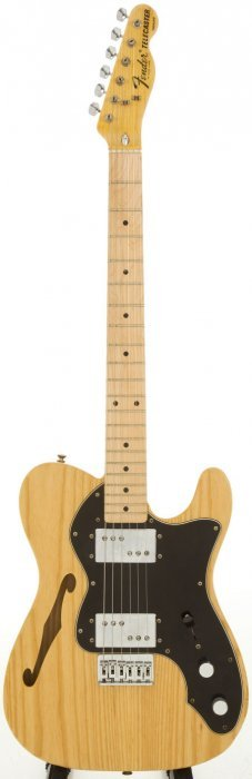 1975 Fender Telecaster Thinline Natural Solid Bo