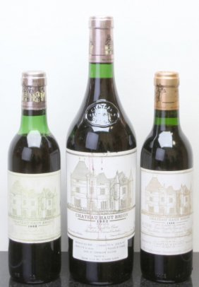 Chateau Haut Brion Pessac-Leognan 1982 Hscl Bottle (