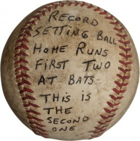 1951 Bob Nieman's Second Home Run In First Two M