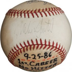 1986 Mike Scott No-Hitter & Western Division Cli