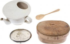 Lot Of Four 19th-Century Collectibles.