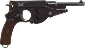 Bergman Model 1896 Semi-Automatic Pistol.