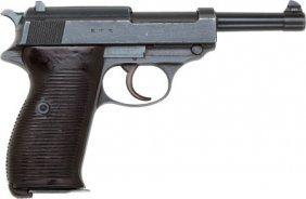 Walther Model P38 Semi-Automatic Pistol.