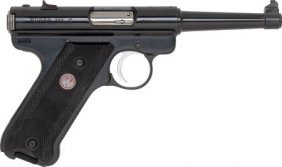 Sturm Ruger Model MK II Semi-Automatic Pistol.