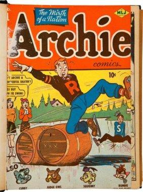 Archie Comics #1-11 Bound Volume (Archie, 1942-4