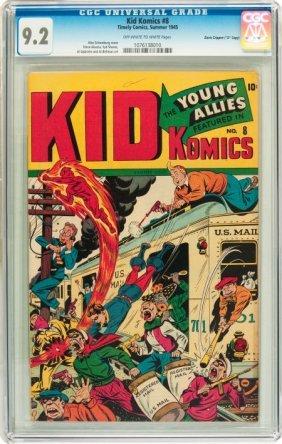 """Kid Komics #8 Davis Crippen (""""D"""" Copy) Pedigree"""