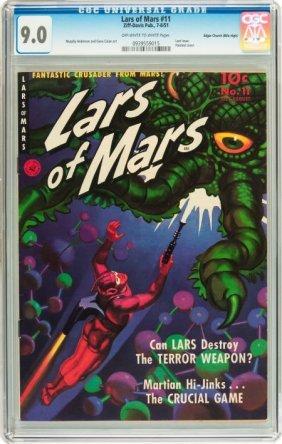 Lars Of Mars #11 Mile High Pedigree (Ziff-Davis,