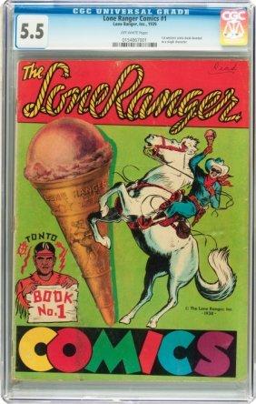 Lone Ranger Comics #1 (Lone Ranger Inc., 1939) C