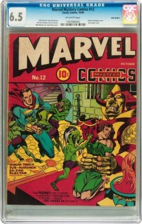 Marvel Mystery Comics #12 Billy Wright Pedigree