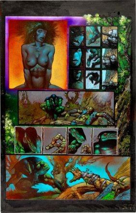 Simon Bisley And Kevin Eastman Melting Pot Book
