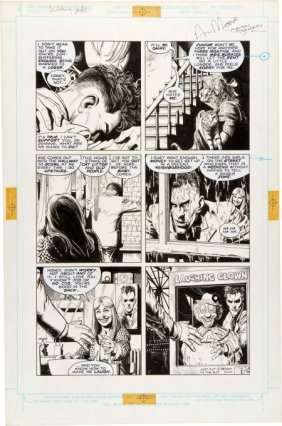 Brian Bolland Batman: The Killing Joke Page 9 Or