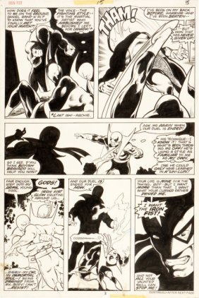 John Byrne And Dan Green Iron Fist #15 Page 3 Or