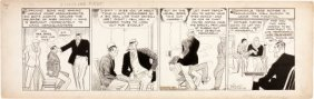 Chester Gould Dick Tracy Daily Comic Strip Origi