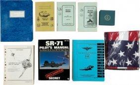 SR-71, U-2, And F-4 Aviation-Related Books, Manu
