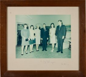 [Gordon Cooper] John F. Kennedy: Large Color Pho
