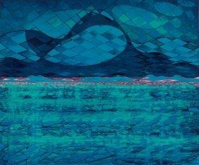 STANLEY WILLIAM HAYTER (British, 1901-1988) Lake