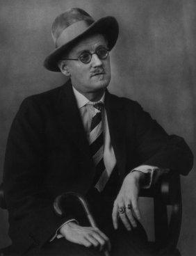 BERENICE ABBOTT (American, 1898-1991) James Joyc
