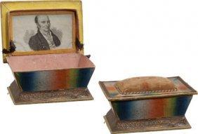 John Quincy Adams: Thread Box.