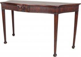 A George Iii Mahogany Console Table, Circa 1820