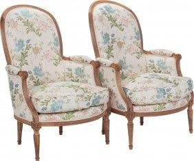 A Pair Of Jean Baptiste Sené Louis Xvi Upholster