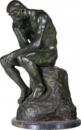After Auguste Rodin (french, 1840-1917) The Thin