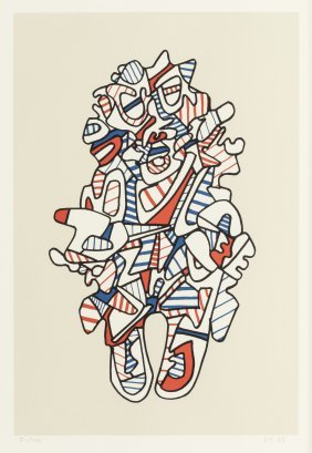 Jean Dubuffet (french, 1901-1985) Objectador, Fr