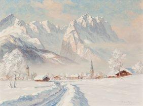 Erwin Kettemann (german, 1897-1971) Wintermorgen