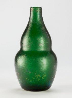 A Carlo Scarpa Blown Glass Vaso Buttuto, Mid 20t