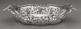 A Gorham Reticulated Silver Bread Bowl, Providen