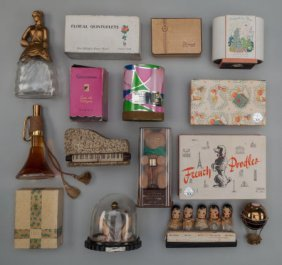 Group Of Fifteen Figural And Novelty Perfumes, C