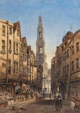 Joseph Josiah Dodd (british, 1809-1894) Old Drur