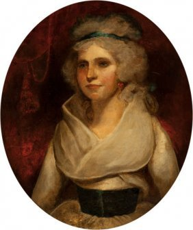 School Of John Hoppner Portrait Of Miss Harriet