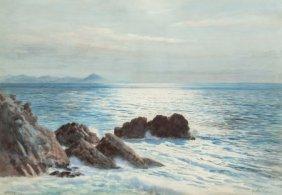 Walter Severn (british, 1830-1904) Biarritz, 189