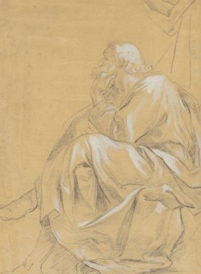 Italian School, Circa 1800 A Seated Philosopher