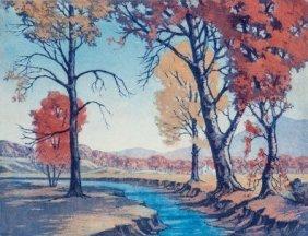 F. Leslie Thompson (american, 1889-1965) October