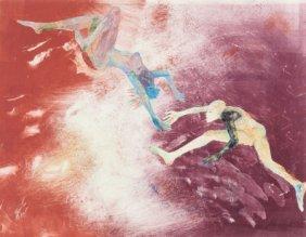 Mary Frank (american, B. 1933) Encounter, 1987 M