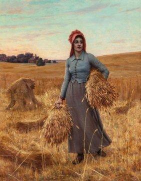John Hemming Fry (american, 1861-1946) The Glean