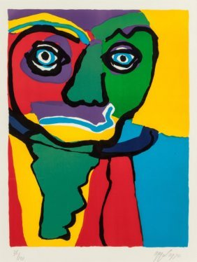 Karel Appel (dutch, 1921-2006) Personages, 1970