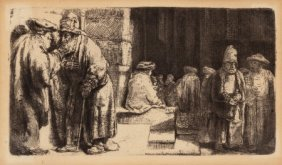 After Rembrandt Van Rijn (dutch, 1606-1669) Jews