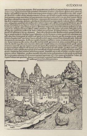 Hartmann Schedel (german, 1440-1514) Mayntz, Wel