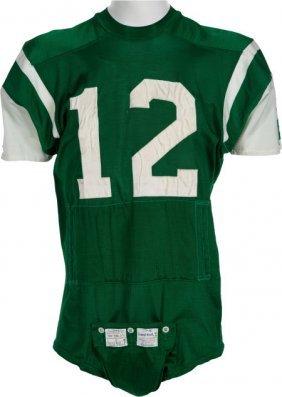 1970-73 Joe Namath Game Worn New York Jets Jerse