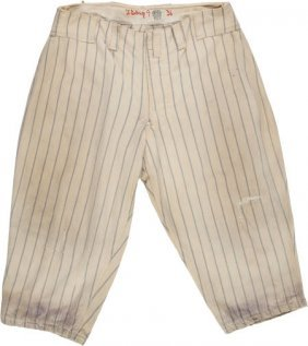 1936 Lou Gehrig Game Worn New York Yankees Pants